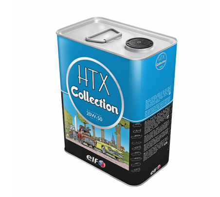 Huile moteur Elf HTX Collection 20W50 Essence 5 L