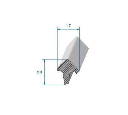 Joint de toit ouvrant pour Renault Dauphine