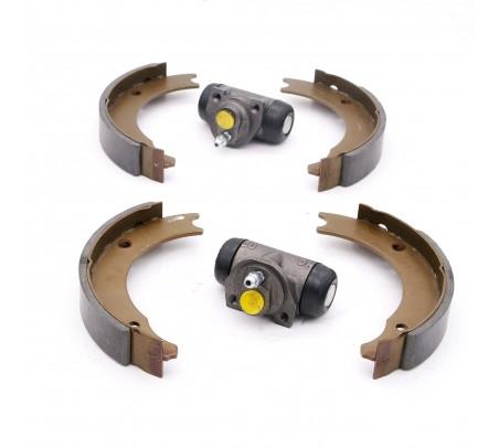 Kit complet de frein arrière 160x26 + 2 cylindres de roue Renault R4
