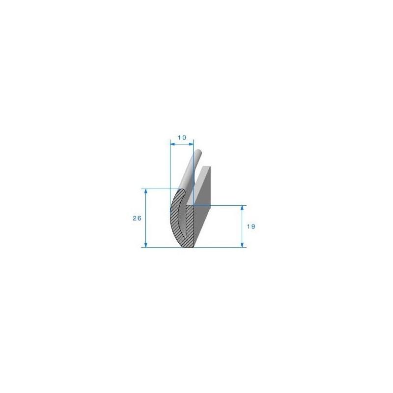 Kit des 4 joints de montant central pour Peugeot 203 Berline