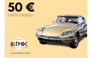 Carte Cadeau 50€ Citroën