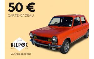 Carte Cadeau 50€ Simca