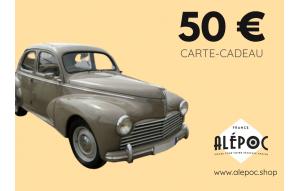 Carte Cadeau 50€ Renault